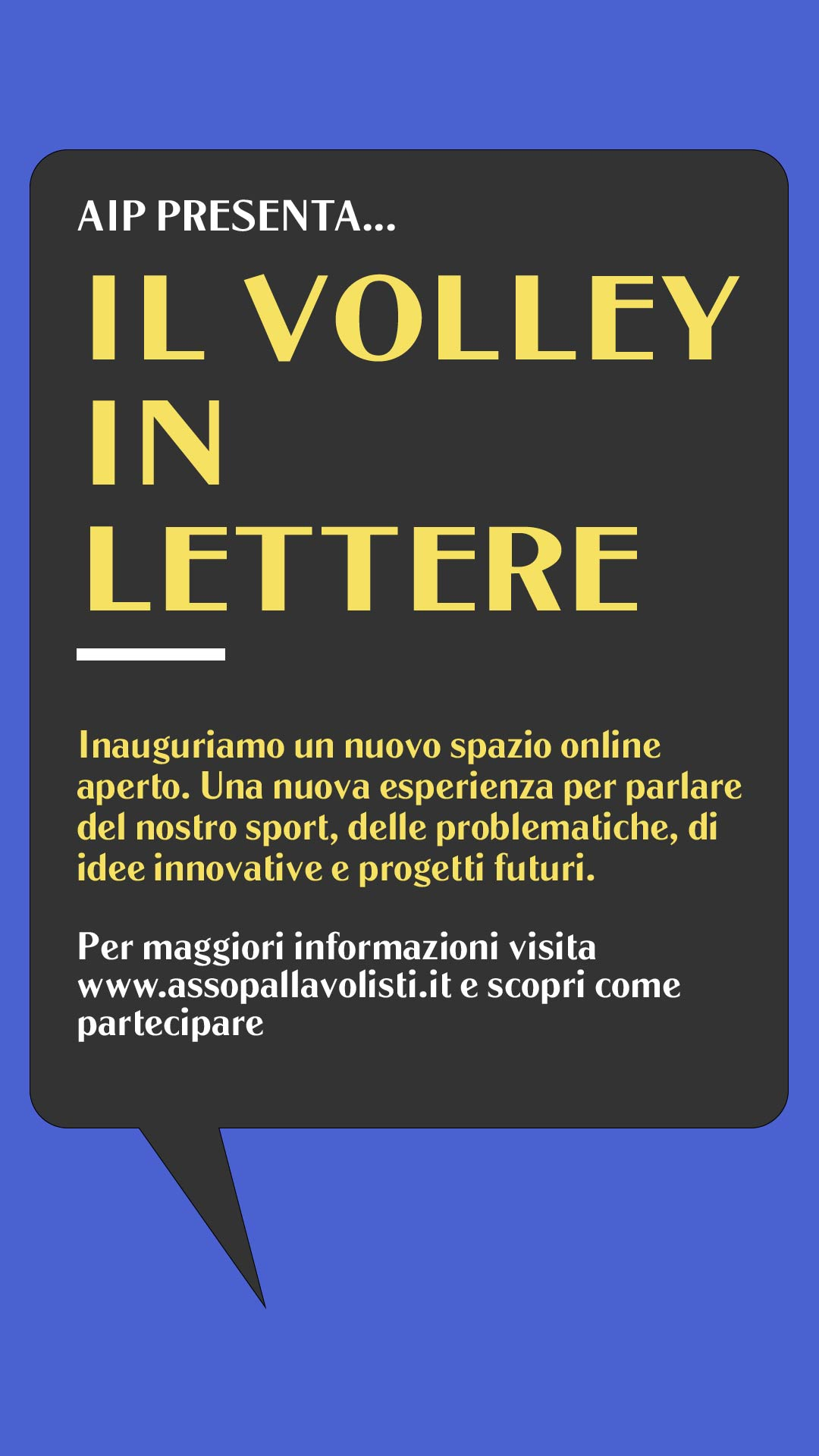 volley in lettere